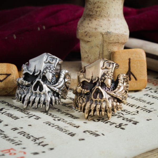 Кольцо «Череп Дракона»