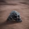 Кольцо «Череп Стимпанк»