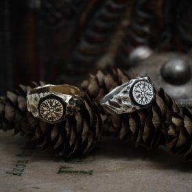 Кольцо «Компас Викингов»
