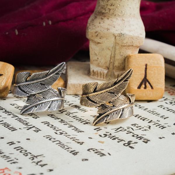 Кольцо «Перышко»
