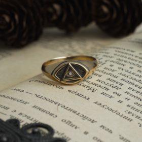 Масонское кольцо «Всевидящее Око»