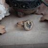 Кольцо с ястребом
