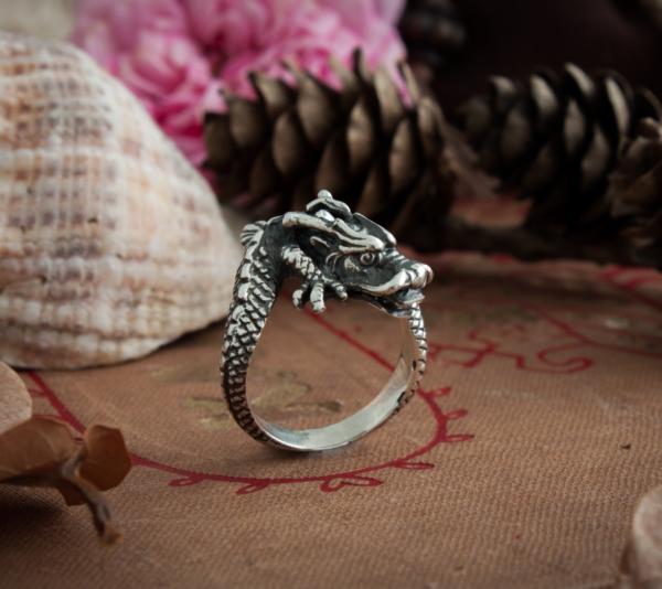 Кольцо «Восточный дракон»