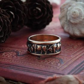 Кольцо «Греческие Быки»