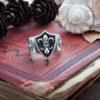 Кольцо «Королевская лилия»