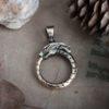 Кулон «Змей Уроборос»