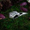 Кулон «Череп ворона с вегвизиром»